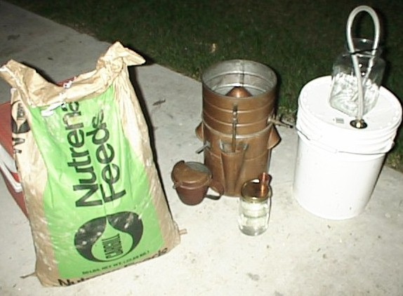 make moonshine with cracked corn - photo #23